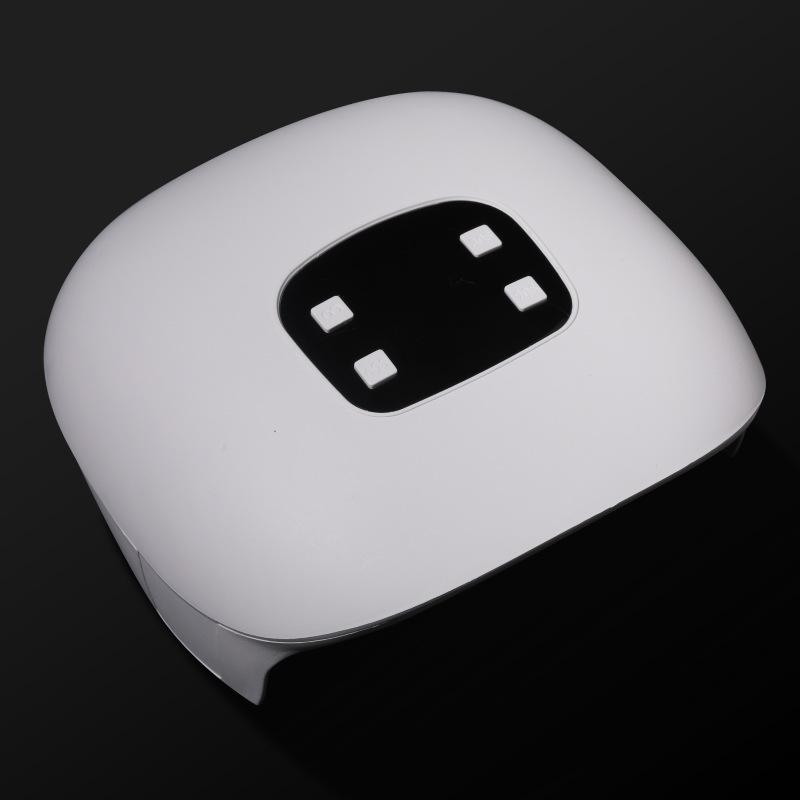 60w Nail  Lamp Dual Light Source Lamp Bead Nail Phototherapy Machine Usb Type Led/uv Nail Lamp White