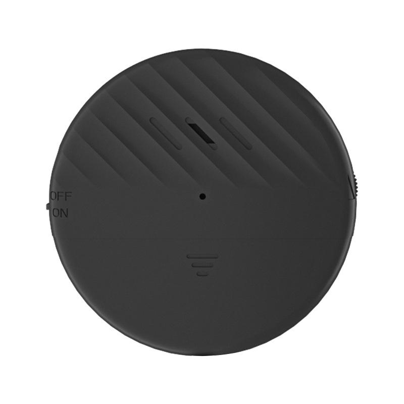 High Decibel Door Window Alarm Home Hotel Anti-theft Alarm Vibration Anti-theft Sensor Alarm Black