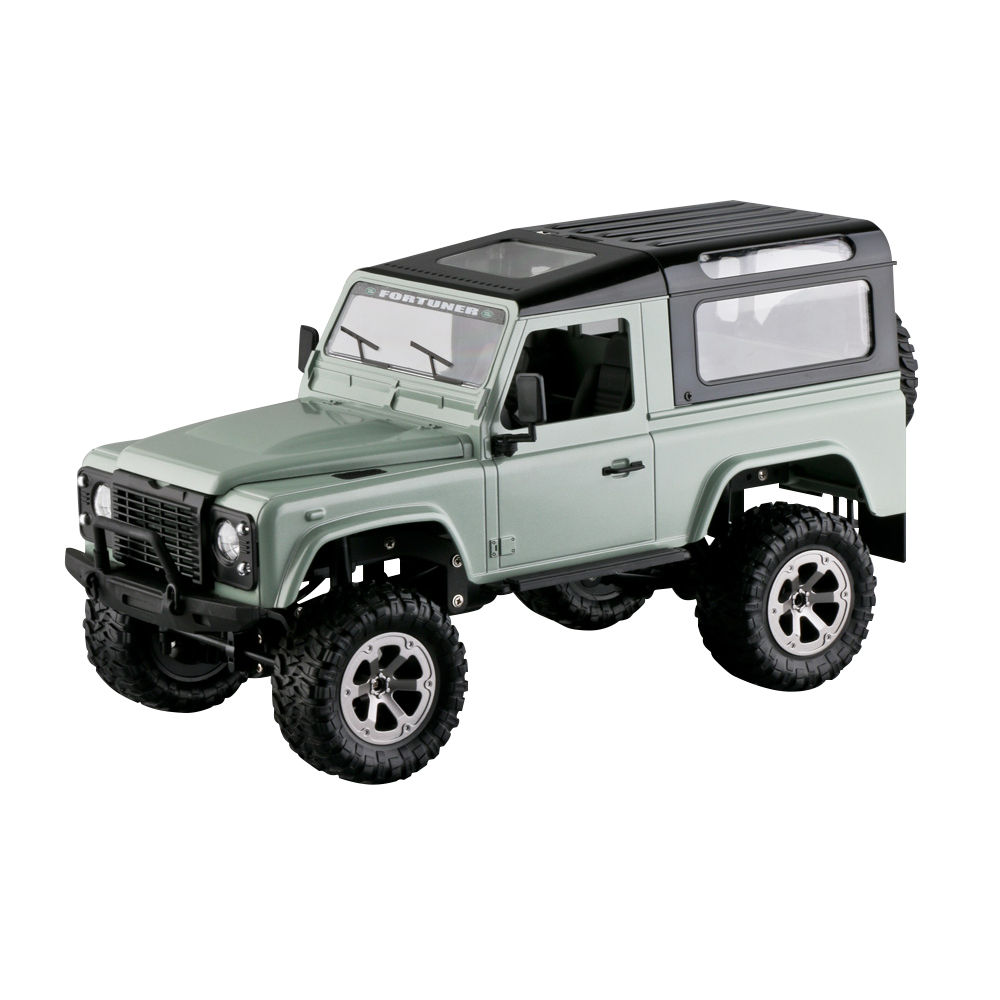 FY003 2.4G 4WD Off-Road Snowfield Wifi Control Metal Frame RC Car Without camera green_1:16