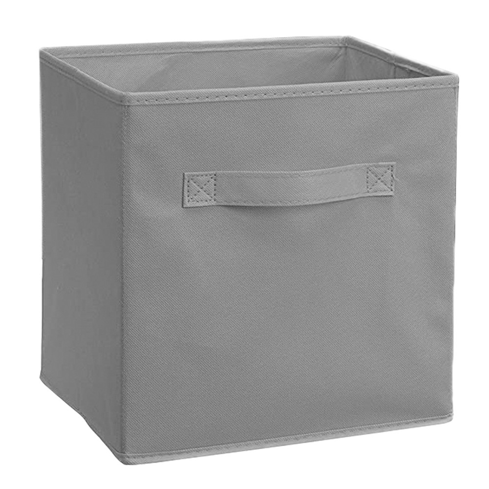 Non Woven Storage Box Folding Organizer with Handle for Home Cabinet