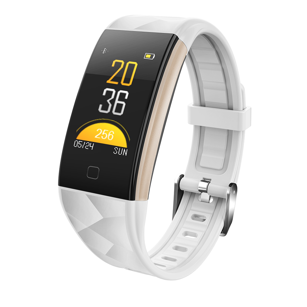 T20 Waterproof Smart Watch- White
