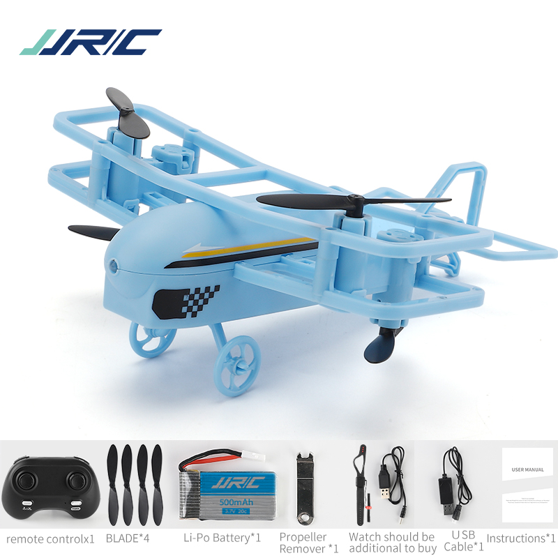 JJRC H95 2.4G Mode 2 360 Degree Roll Headless Mode Keep Flying Height Remote control Mini FPV Racing Drone RC Quadcopter blue