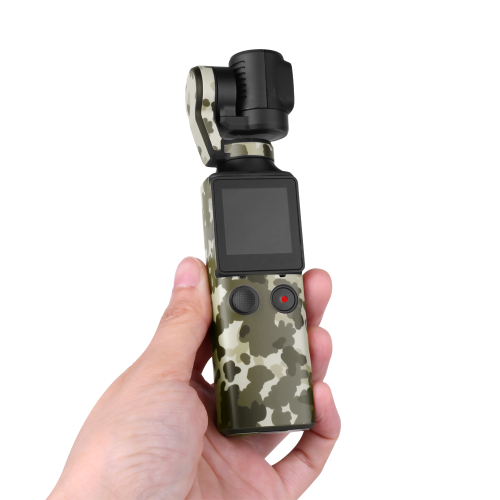 Protective Film Sticker Cover Decal For FIMI Palm Handheld Gimbal Camera Desert camouflage