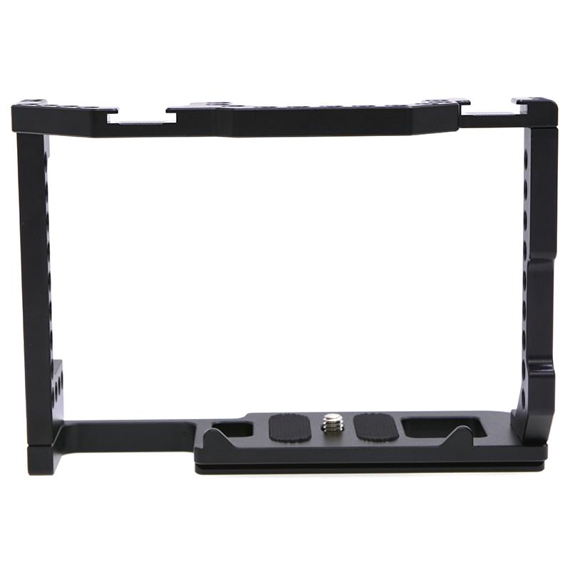 Aluminum Alloy Camera Cage Compatible forCanon EOS 90D/80D/70D: black
