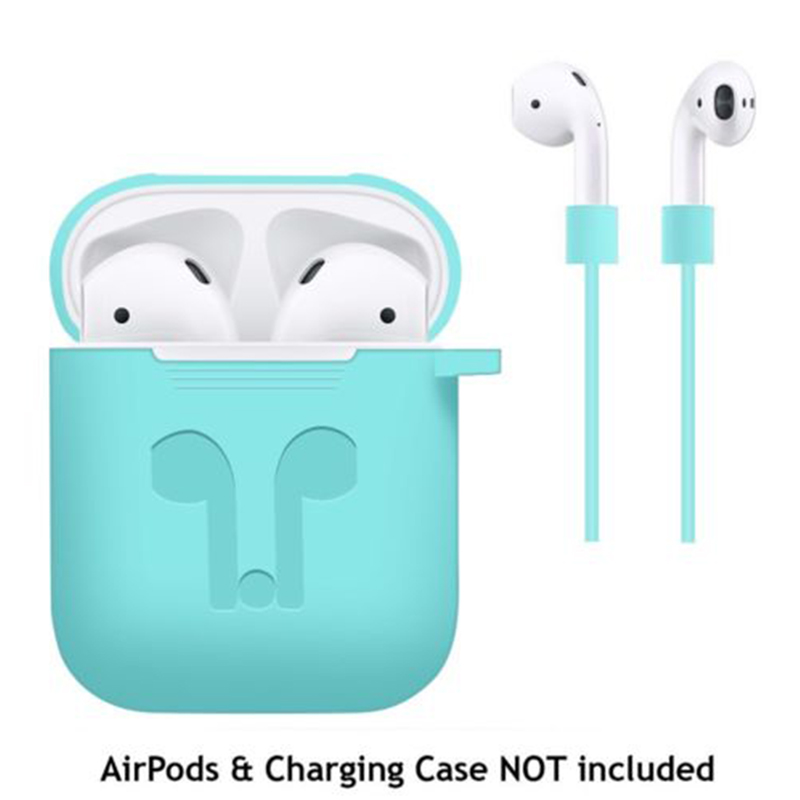 Airpod  Headphone Protective Case Mint Green