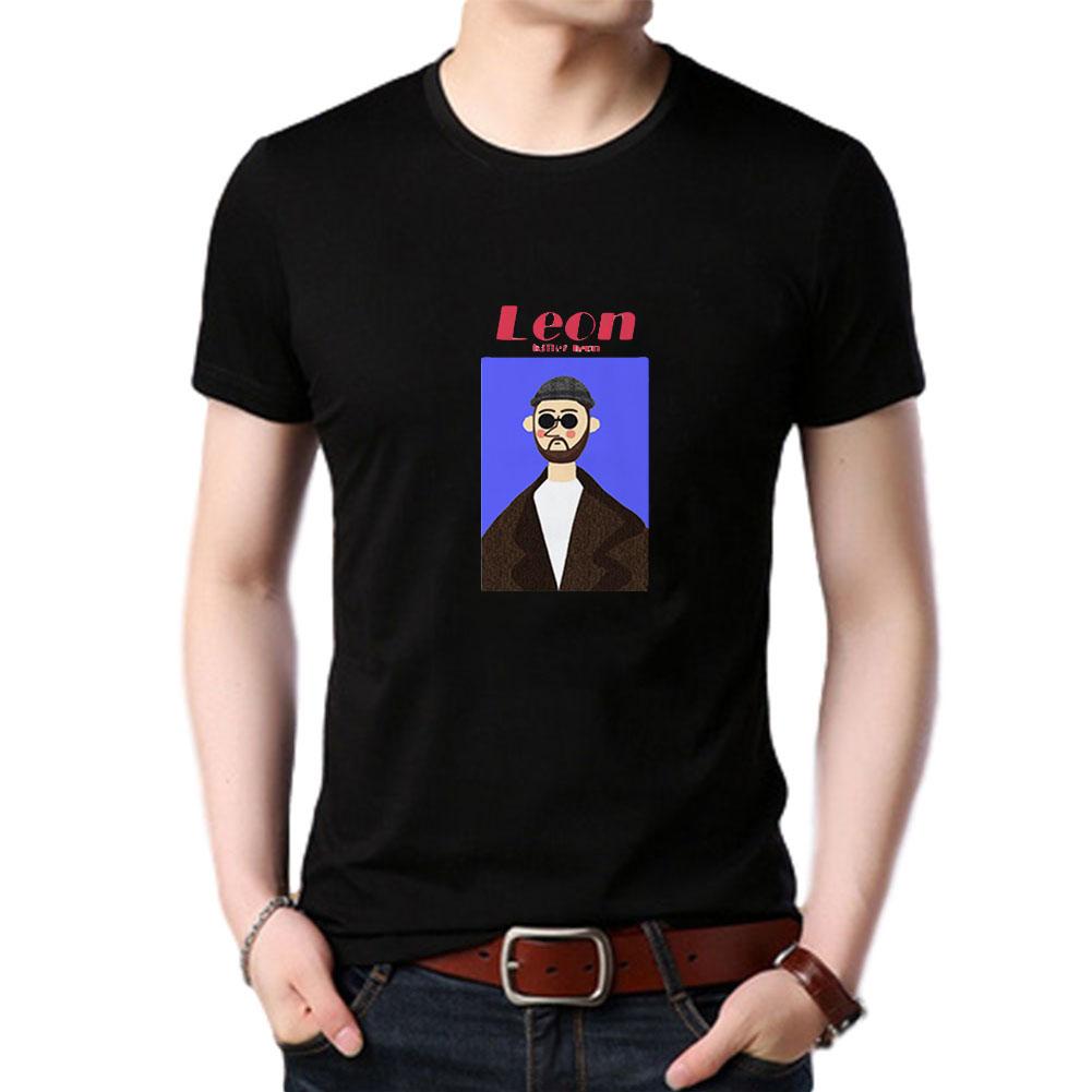 Women Men T Shirt Fashion Loose Short Sleeve Tops for Couple Lovers Black male_L