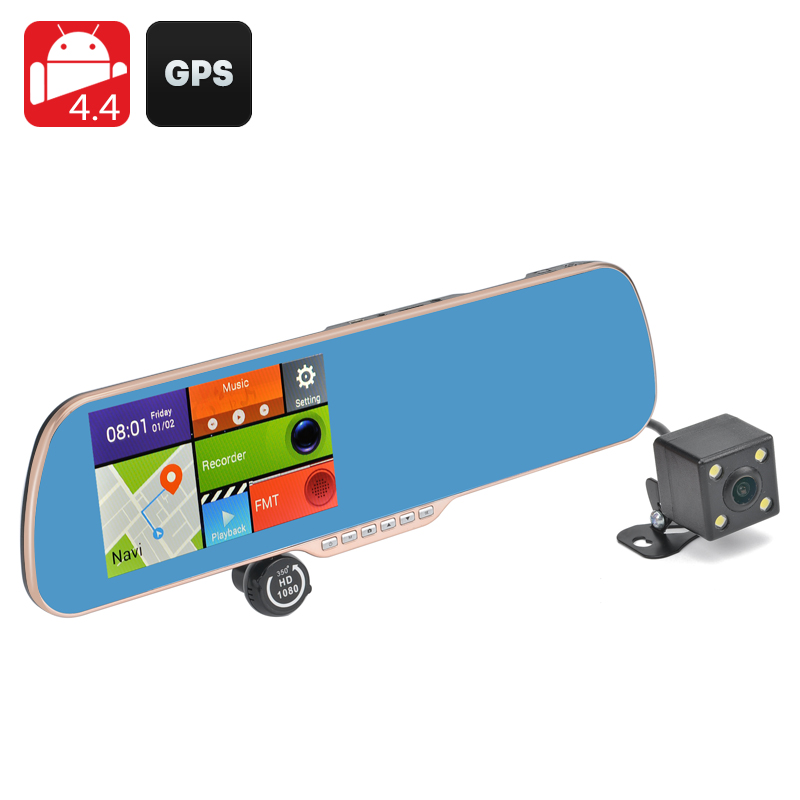 Android 4.4 DVR and Parking Camera