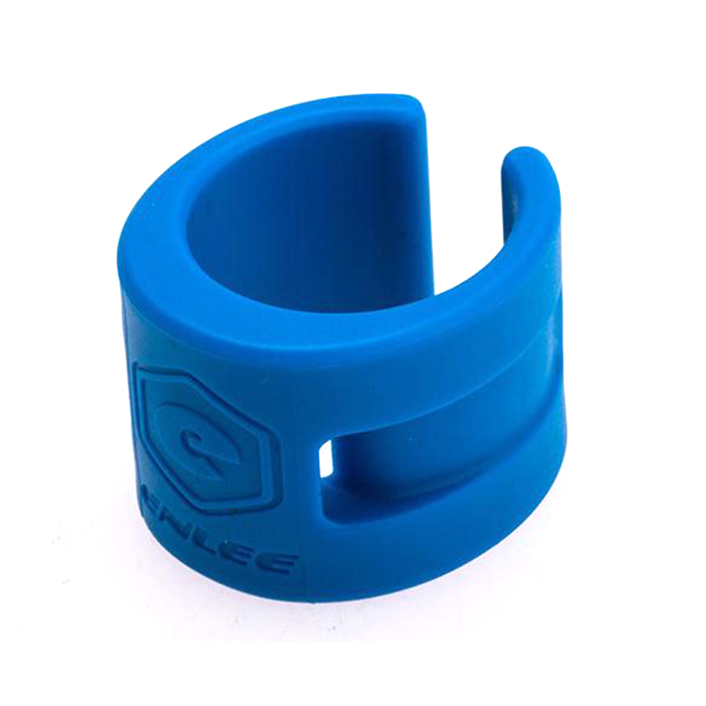 Road Bbike Mountain Bike Bicycle Front Rear Fork Cover Protection Rubber Anti Scratch Chain Guard Parts blue