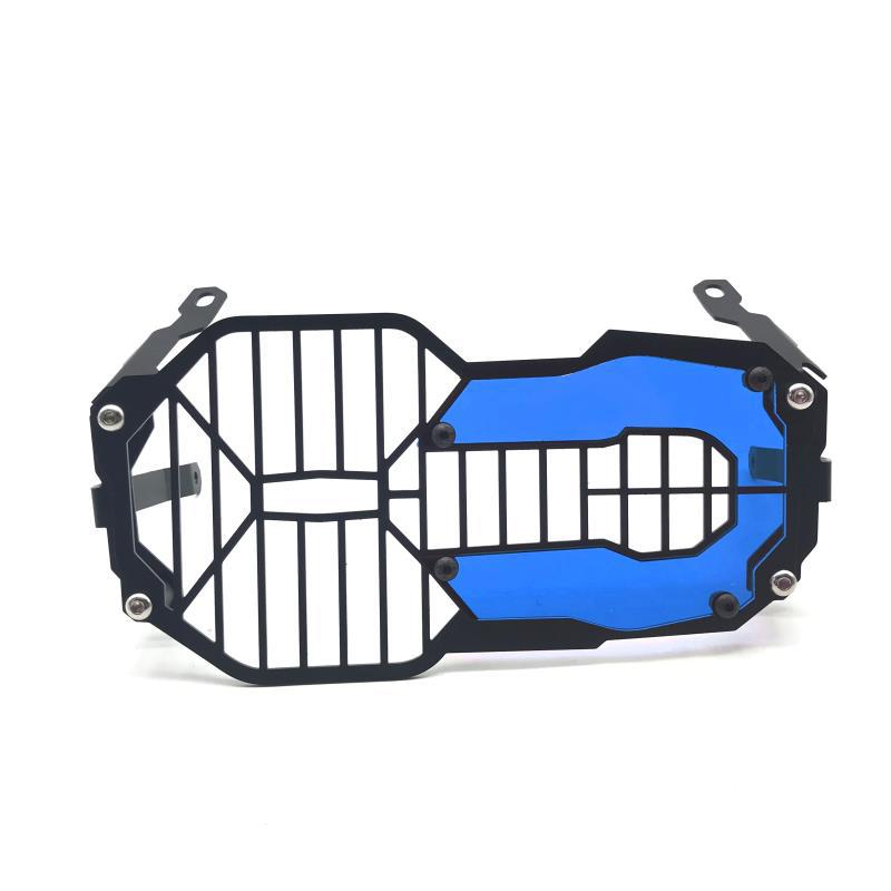 Motorbike Headlight Protection Lens Device for BMW Waterbird R1200GS / R1250GS ADV blue