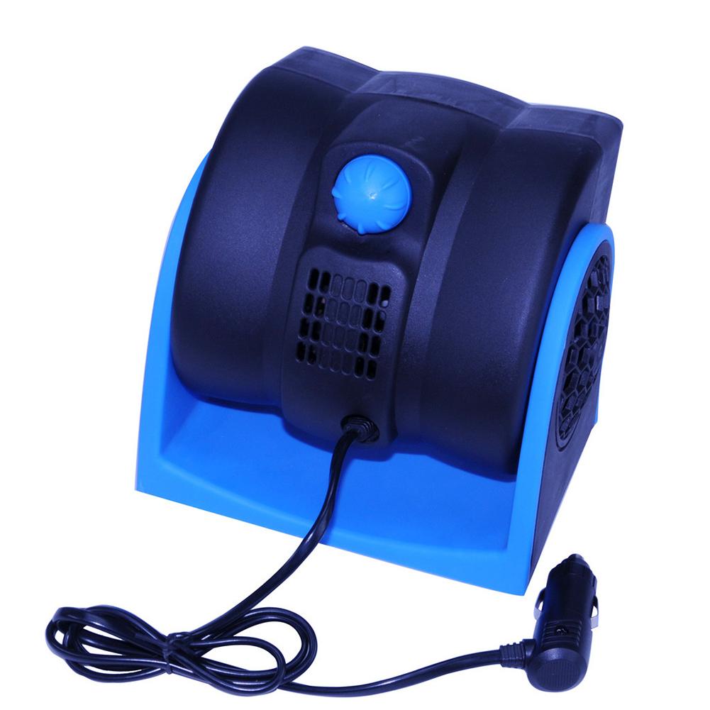 12V Car Fan Cigarette Lighter Fan 2 Gear Speed Big Wind Low Noise Export-specific full English packaging