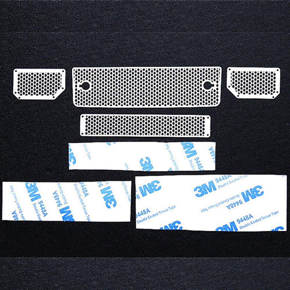 For TRAXXAS TRX4 TRX6 Mercedes-Benz G500 G63 1/10 Simulation Model Car Accessories Stainless Steel Metal Front Intake Grille default