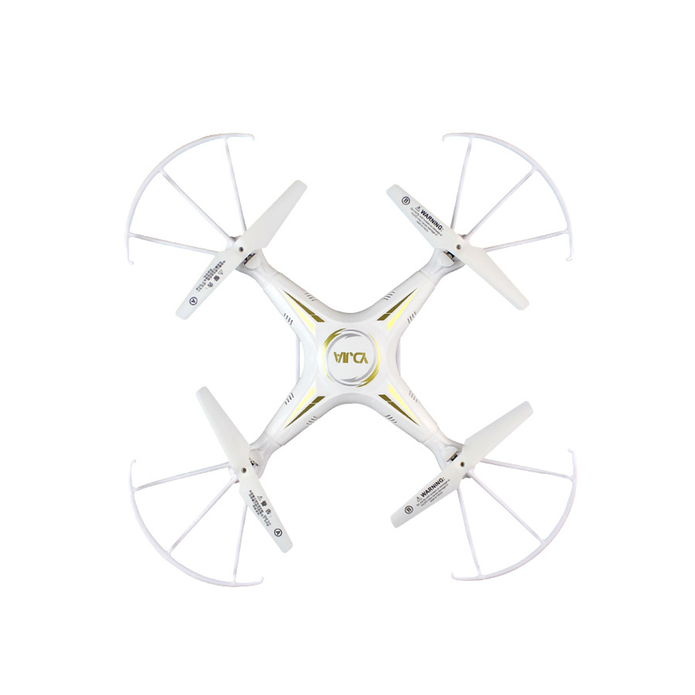 Headless Mode 360 Degree Turning RC Aircraft with Remote Control Kids Toy white