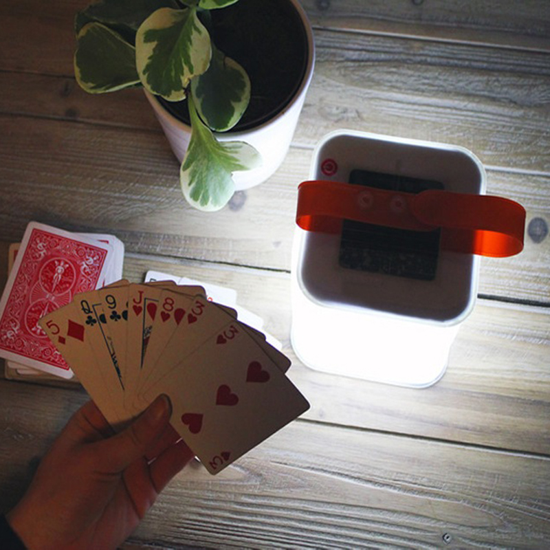 Foldable Inflatable Cube Solar Light, Waterproof Outdoor Lantern, Protable 3 Modes LED Lamp For Garden Yard Camping Hiking