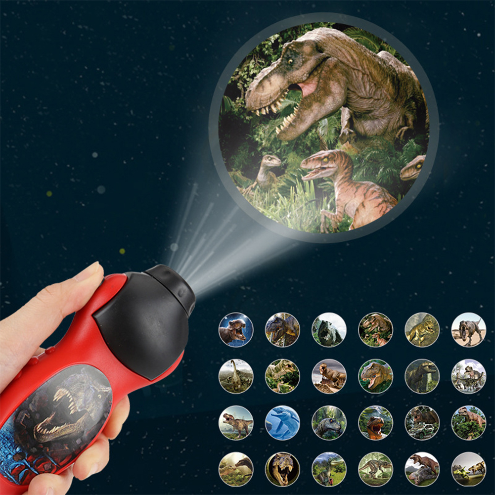 Eductional Toys Torch Night Projection Light Toy Led Interesting Toy For Boys Girls As shown
