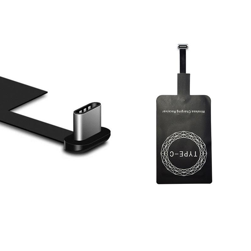 Lightweight Wireless Charging Receiver for Android iPhone TYPE-C Receiver Induction Chip Type-C interface