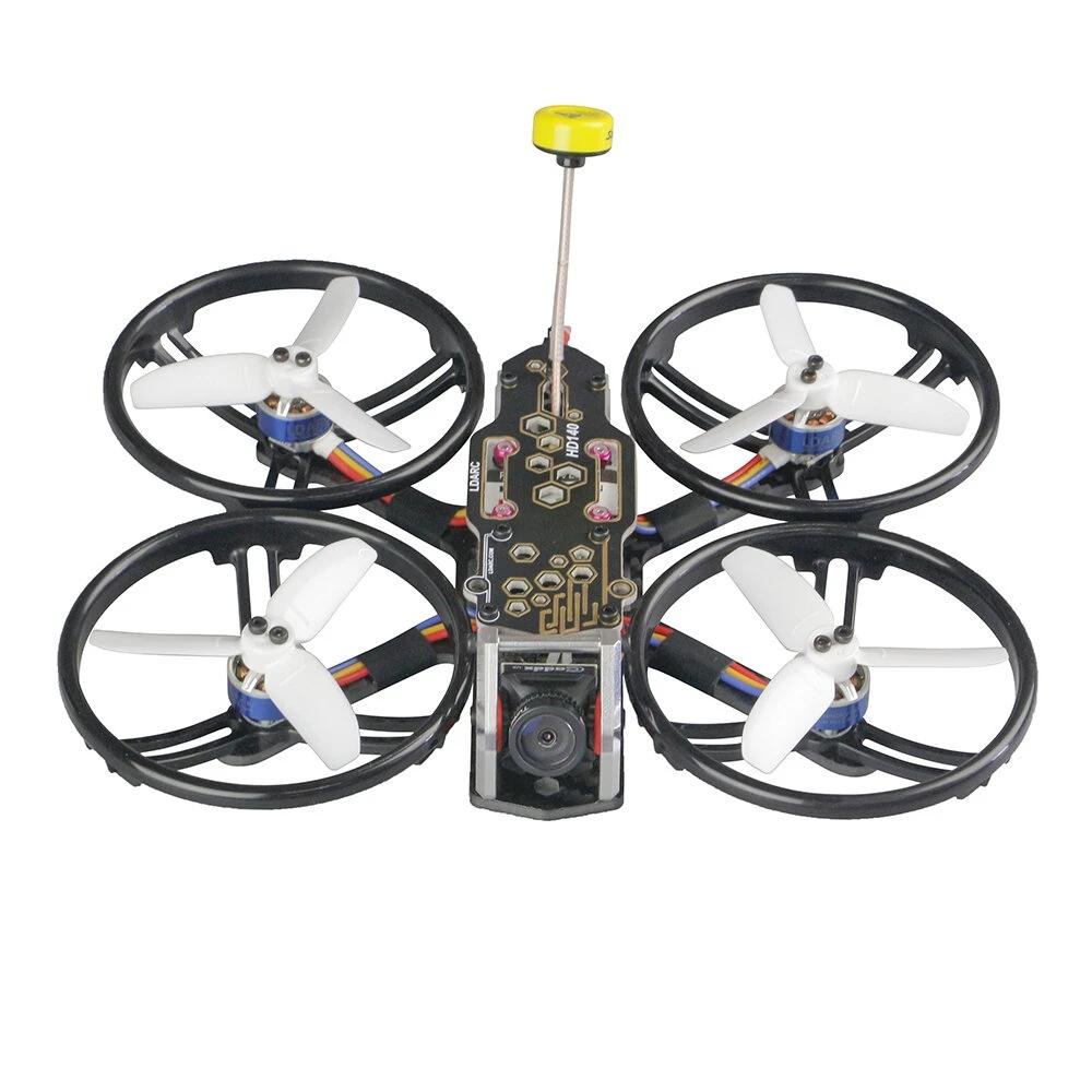 LDARC/KINGKONG HD140-FPV 140mm 2.8 Inch 4S FPV Racing Drone PNP/BNF F4 OSD 20A ESC Runcam Nano2 Cam Without receiver