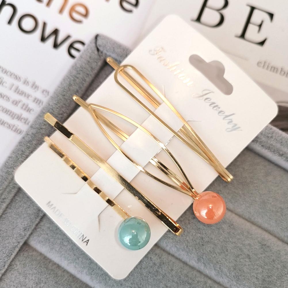 1 Set Women Delicate Fashion Style Hair Clip No. 8 hairpin set