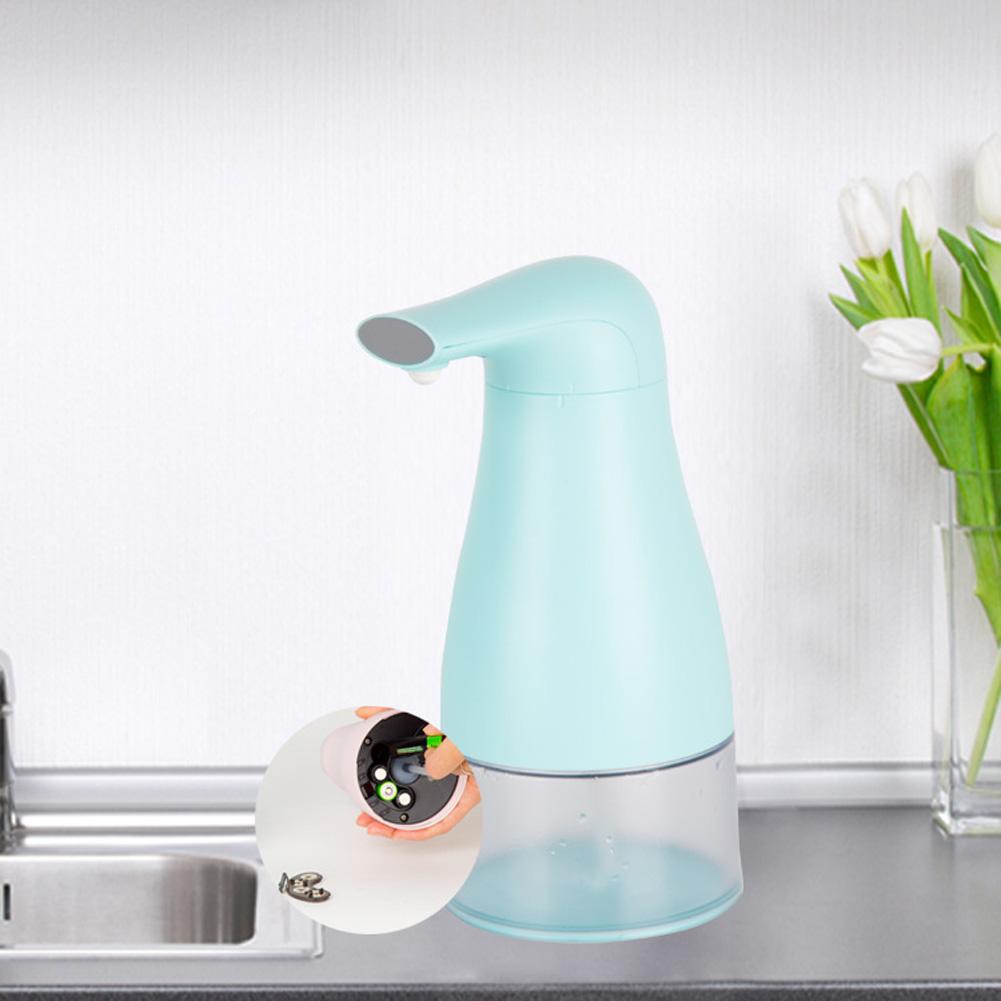 Automatic Foam Soap Dispenser Touchless Hand Infrared Auto Sensor Soap Pump for Kitchen Children blue-