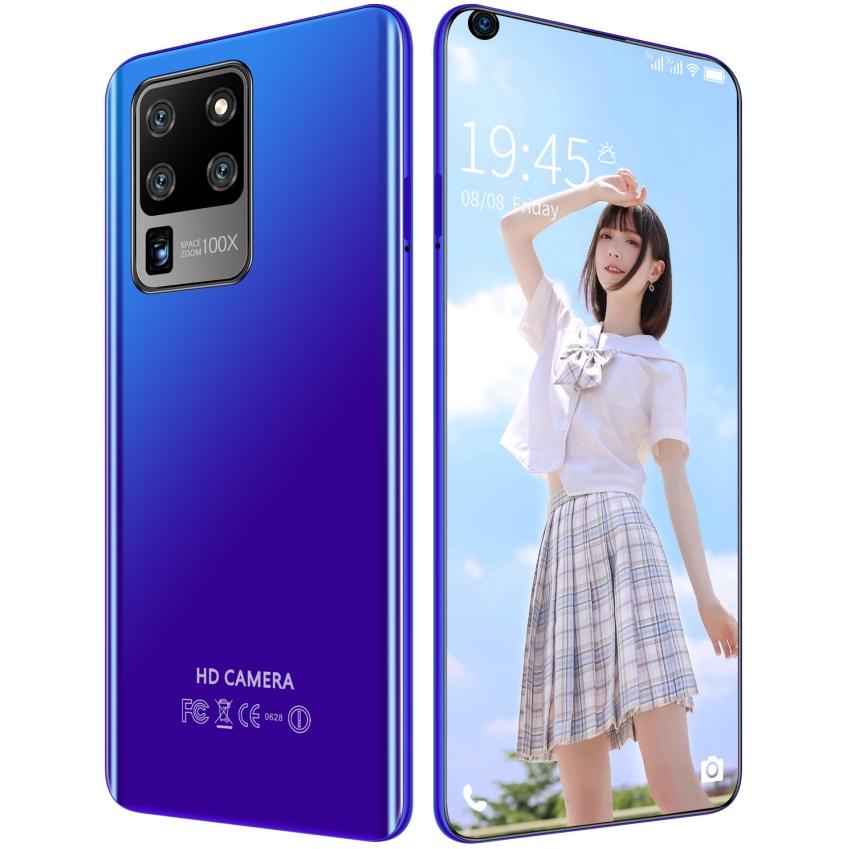 S30U Plus 6.82 inch 2GB RAM 16GB ROM Large-screen Mobile Phone blue_British plug