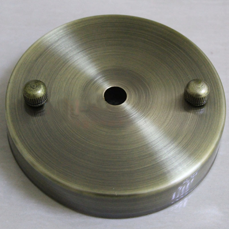 Ceiling Plate Round Metal Light Accessories