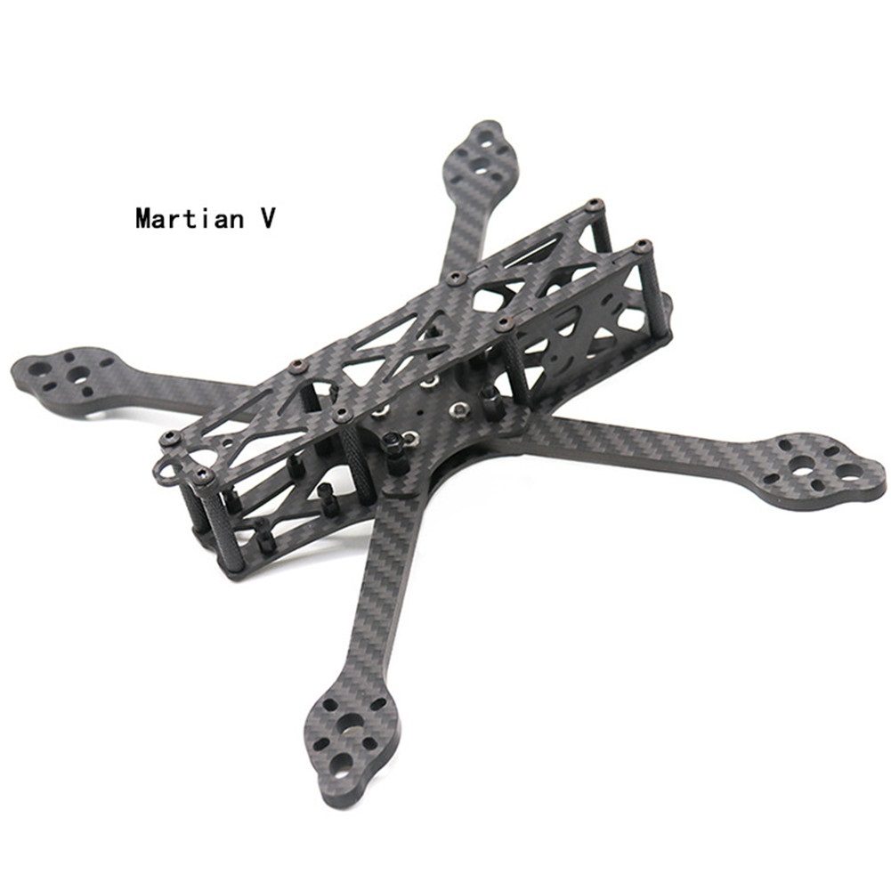 TCMM 5 Inch Drone Frame Martian V Wheelbase 215mm Arm Carbon Fiber For FPV Racing Drone Martian V 215mm