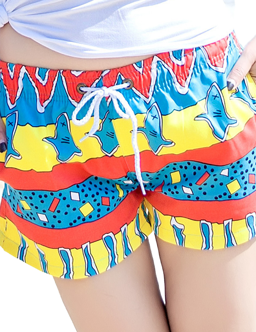 Lovers Fashion Soft Cotton T-shirts & Colorful Shorts Fashion Pattern Breathable Quick-dry Clothes