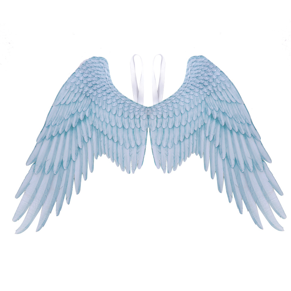 Halloween Carnival Oversized Black White Angel WIngs for Women Men Unisex Wings White adult angel wings