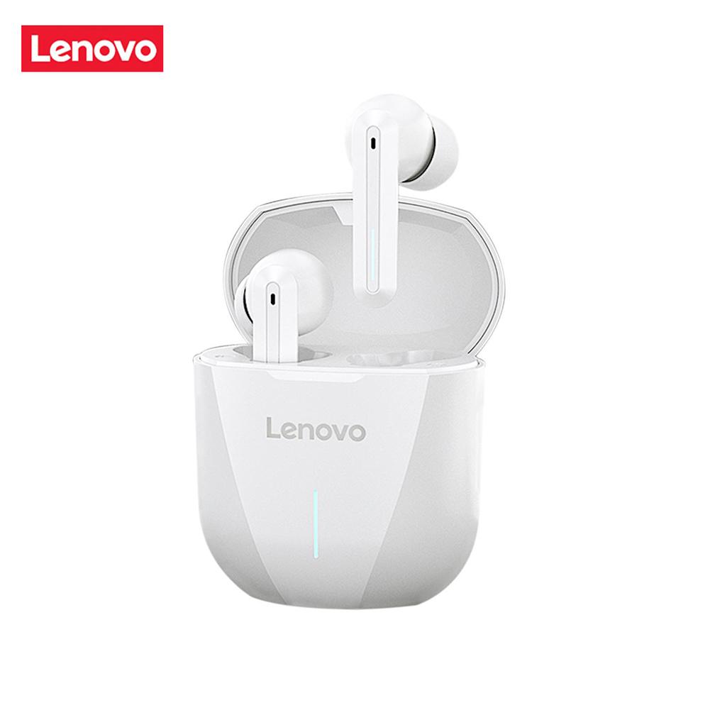 Original LENOVO XG01 Wireless Bluetooth Headset Binaural In-ear Low Latency Gaming Headset White