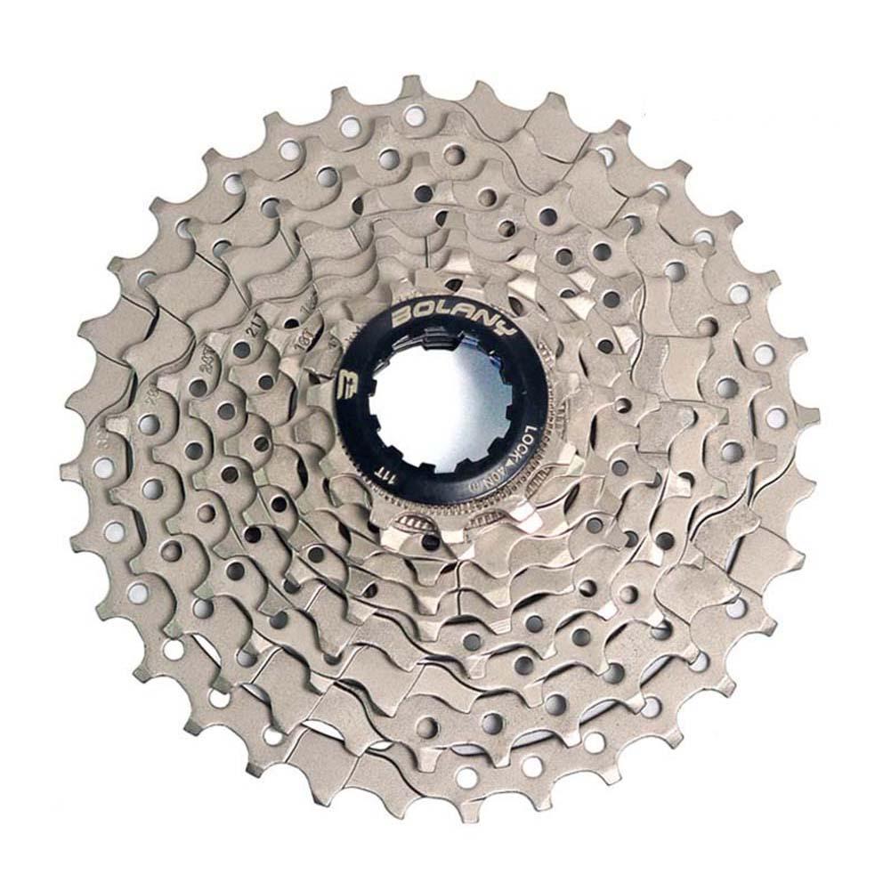 MTB Bike Freewheel 8S/9S 25 28 32 40 42T MTB Mountain Bike Flywheel 8 9 Speed Cassette Sprocket for Shimano Sram Silver_9-speed 32T