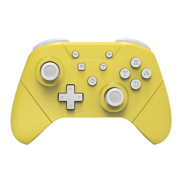 Wireless Gamepad For Nintend Switch Pro Controller have NFC Turbo 6-Axis Doublemotor 3D Game Joysticks yellow