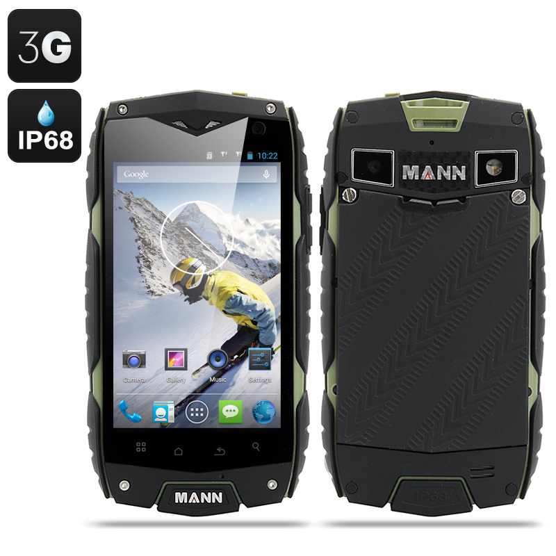 MANN ZUG 3 Android 4.3 Smartphone (Green)