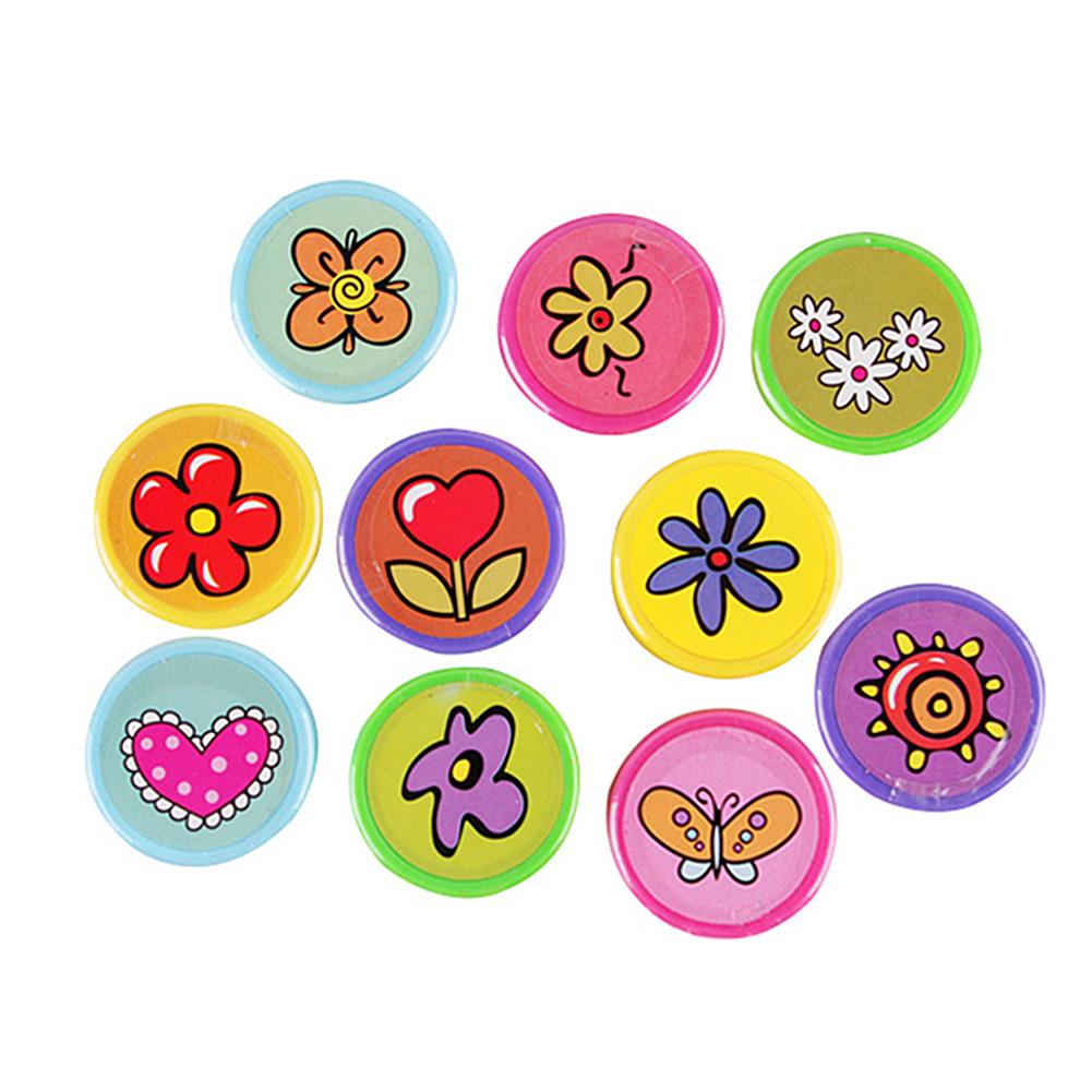 [EU Direct] Flower seal (10PCS/ group, 10 different designs)