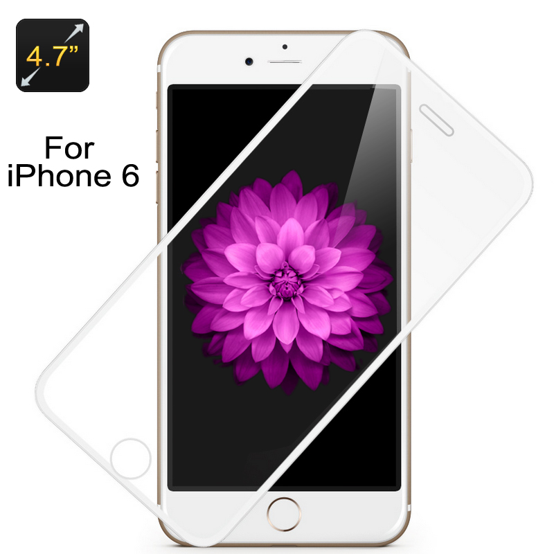 Glass Protector iPhone 6 (White Border)