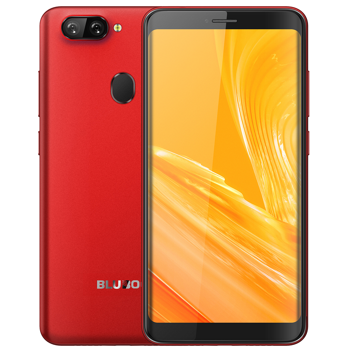 Bluboo D6 Android Red Smartphone