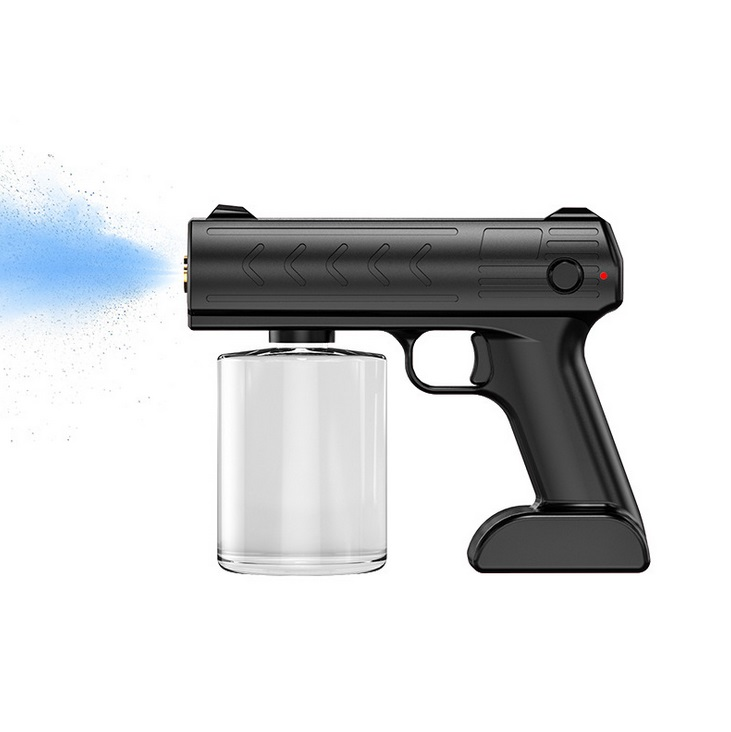 Blue Disinfection Sprayer 1200 Mah Ultra Long Jet Distance Spray Device Black