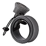 [US Direct] Fishing Spinning Rod Cover  Black