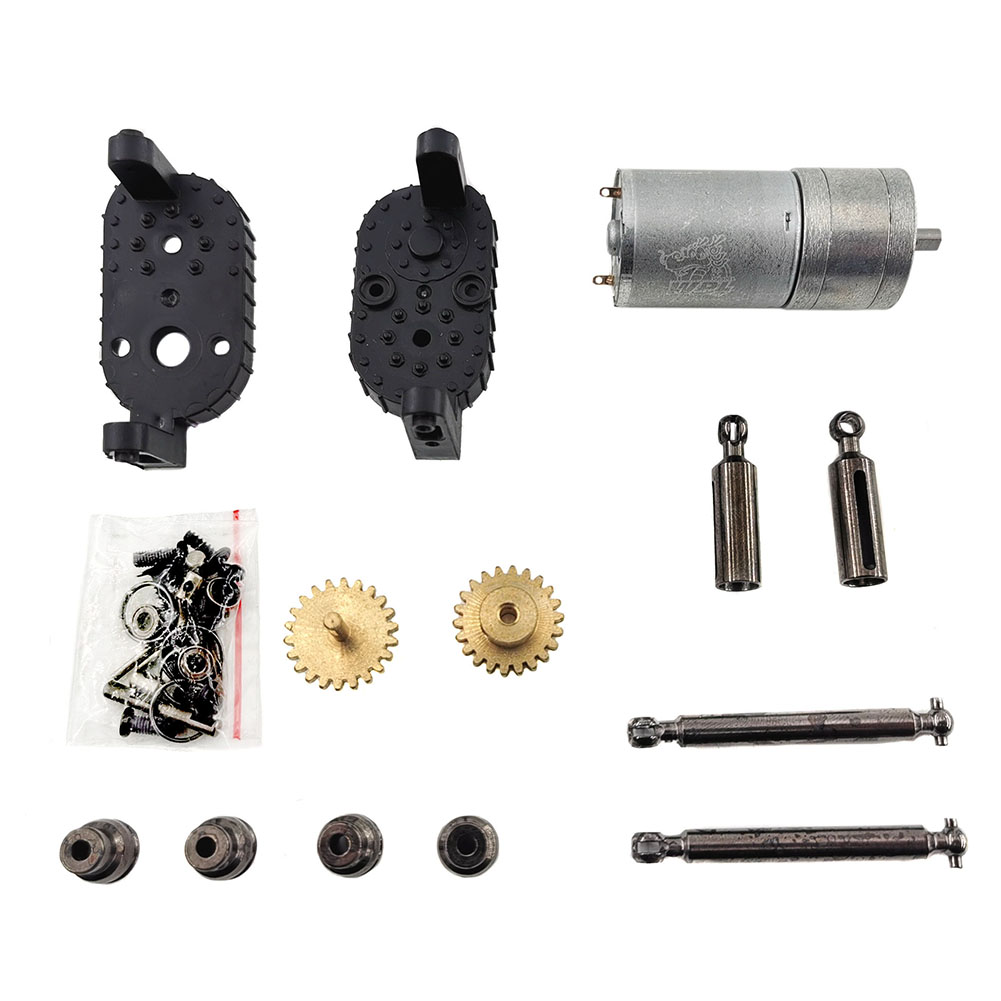 WPL C14 C24 C34 MN 90 91 Gear Box For 1/16 4WD 2.4G Buggy Crawler Off Road 2CH Vehicle Models RC Car Parts As shown