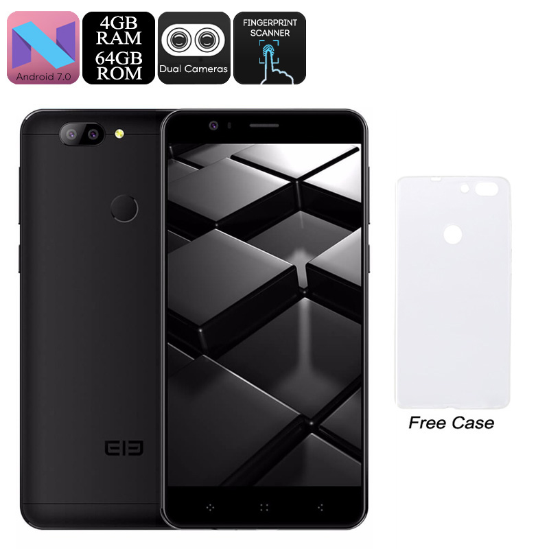 Elephone P8 Mini Android Phone (Black)