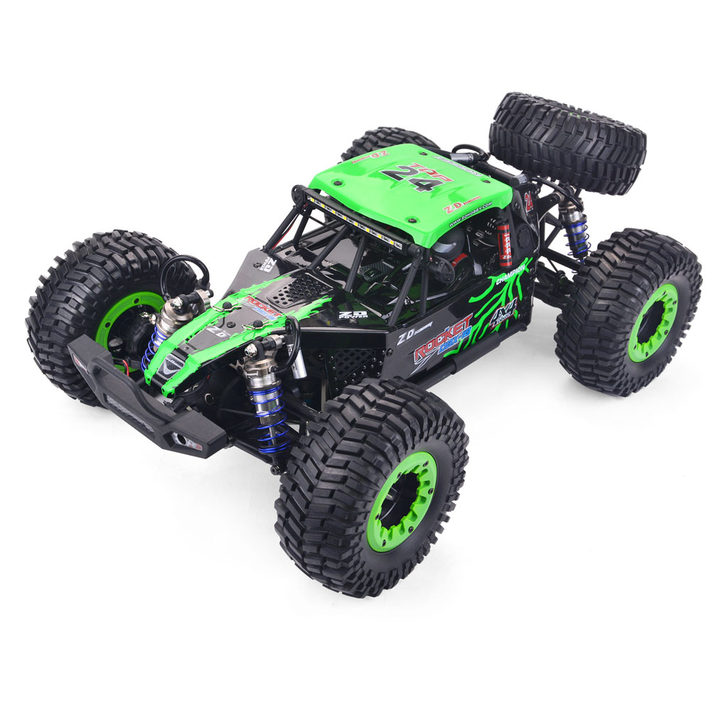 ZD Racing DBX 10 1/10 4WD 2.4G Desert Truck Brushless RC Car High Speed Off Road Vehicle Models 80km/h W/ Swing green