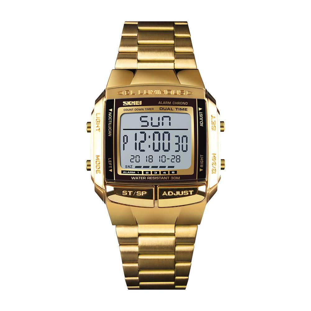 Men Luxury Watches Gold