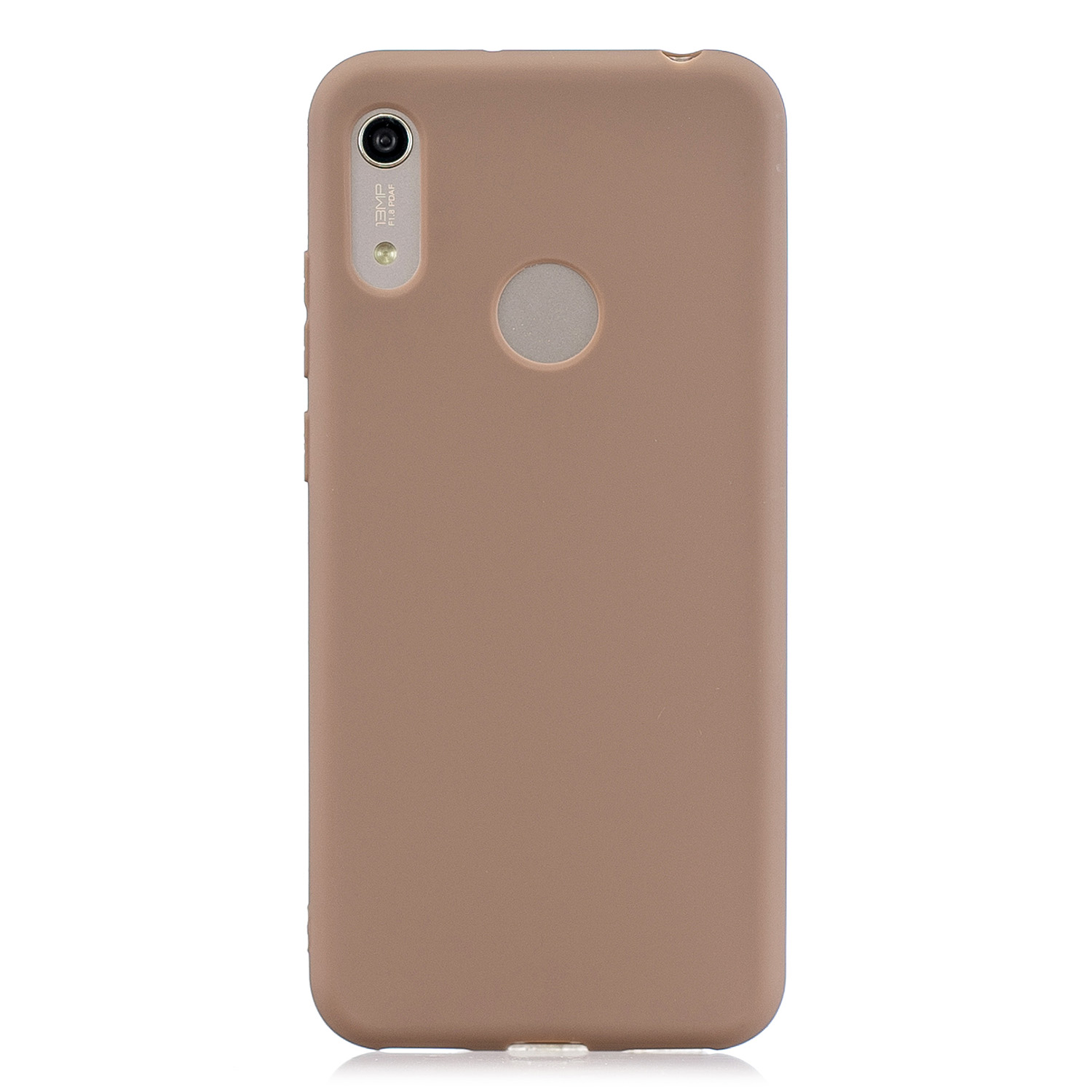 For HUAWEI Y6 2019 Lovely Candy Color Matte TPU Anti-scratch Non-slip Protective Cover Back Case 9