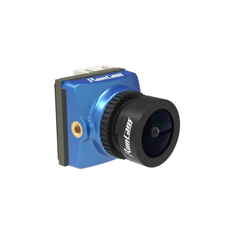 RunCam Phoenix 2 Joshua Edition CAM 1/2 CMOS f2.0 Super WDR Mini FPV Camera for RC Racing Drone blue