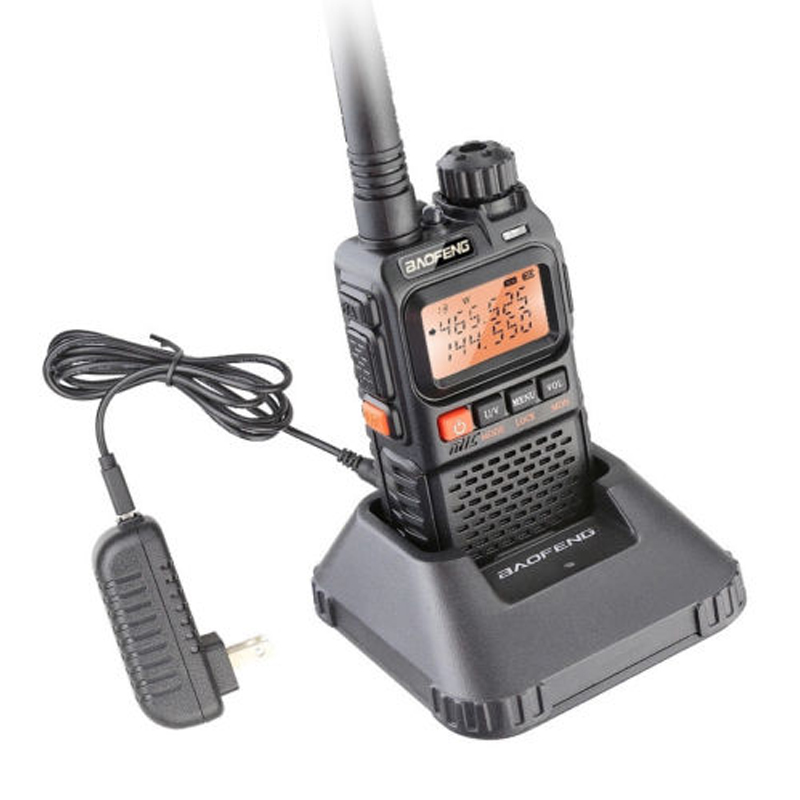 BaoFeng UV 3R+ Walkie Talkie - US Plug