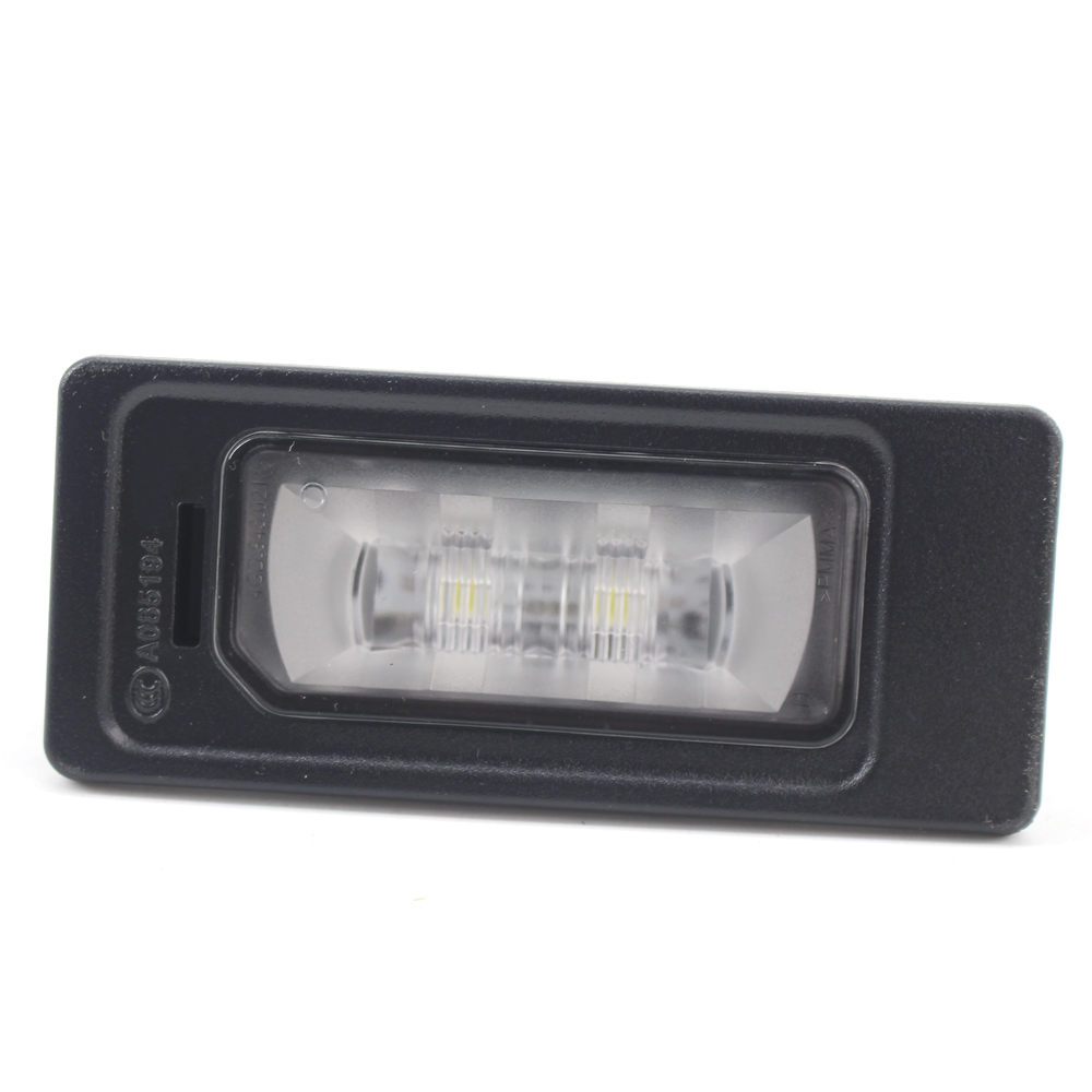 Led Rear License Plate Light Suitable For Audi New Style #4g0943021 Boxed