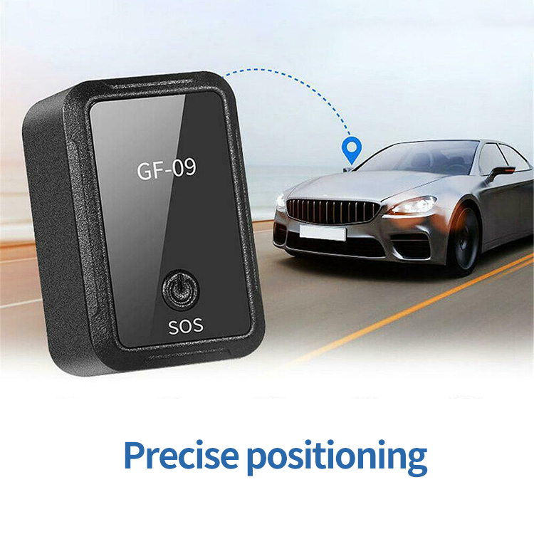 Gps Tracker Gf-09 Magnetic Car Tracker App Control Device Magnetic Voice Recording BGD0500