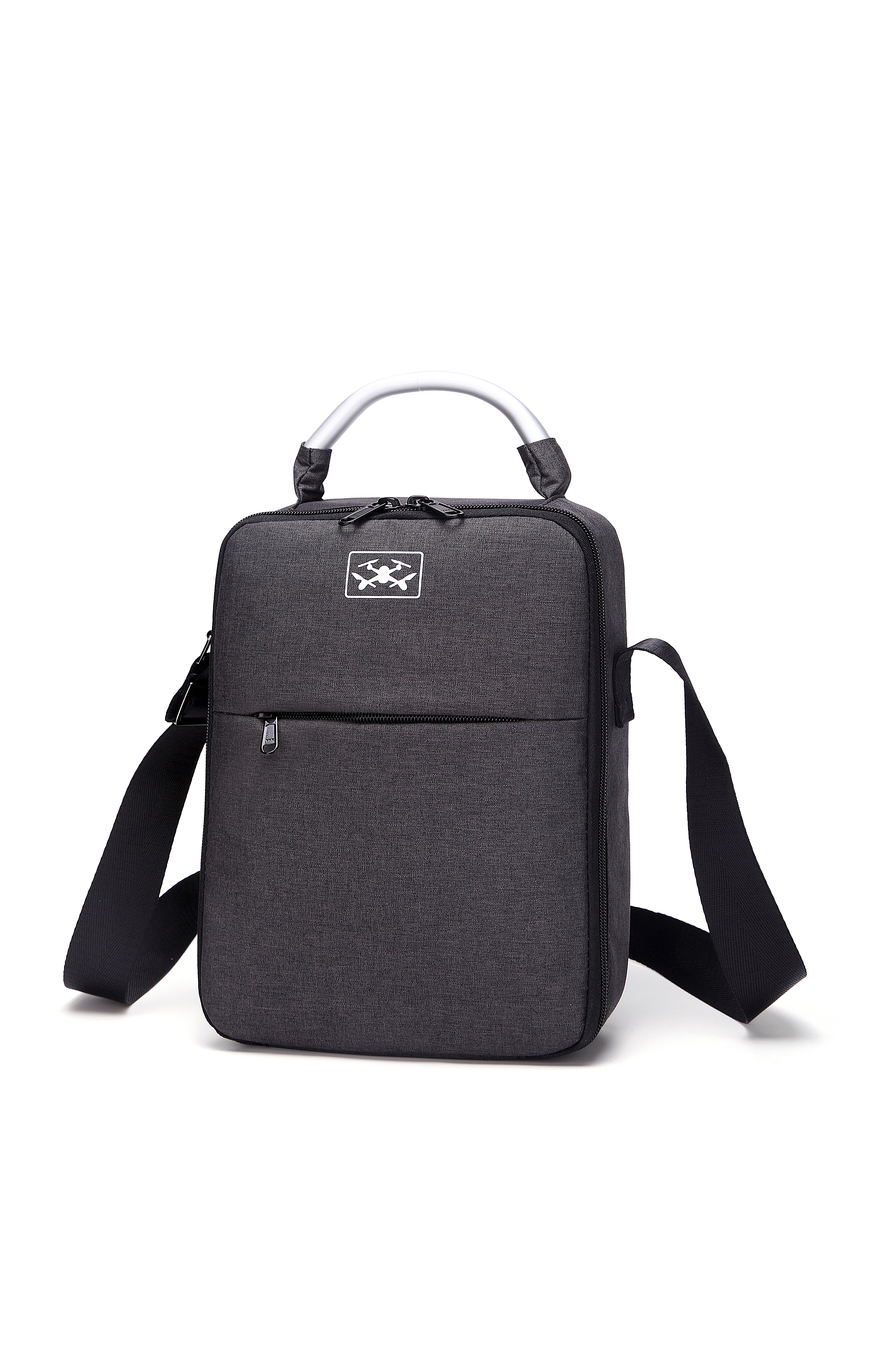 Portable Storage Bag Waterproof Travel Case Carring Shoulder Bag for DJI Mavic Air/Mavic 2 Pro Drone black