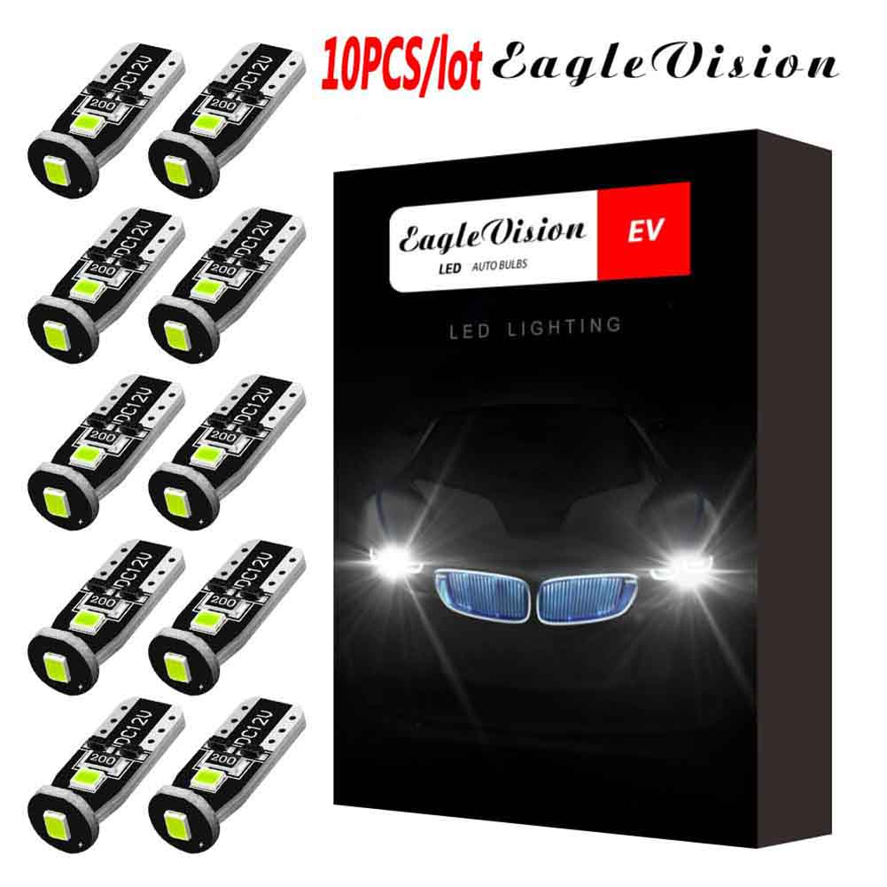 T10 3smd Interior Led Lights For Car Brake Light Turn Light Indoor Reading Light Ice blue