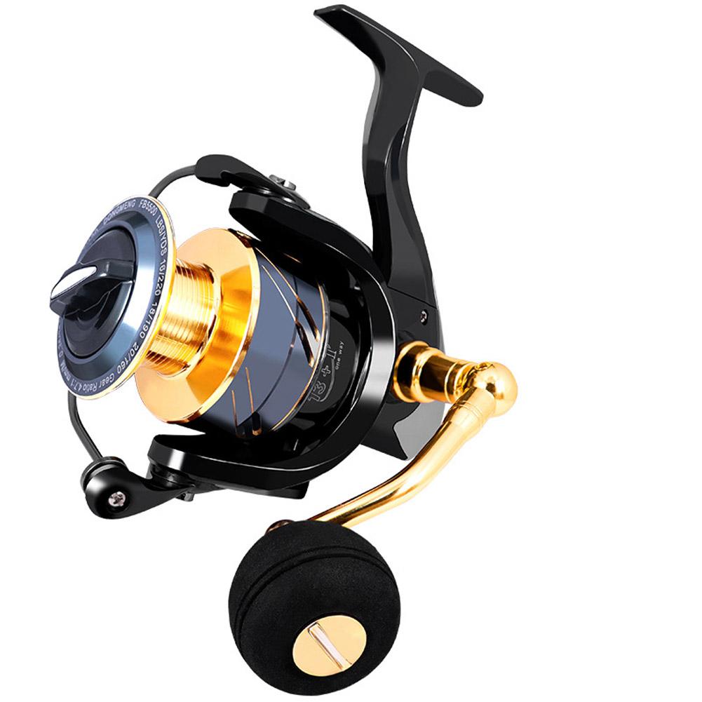 Fishing Reel  stainless steel Gear Ratio High Speed Spinning Reel Carp Fishing Reels For Saltwater 5500