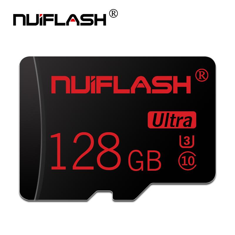High Speed TF Card + Adapter U3 C10 High Speed Flash Memory Card for Phone Camera