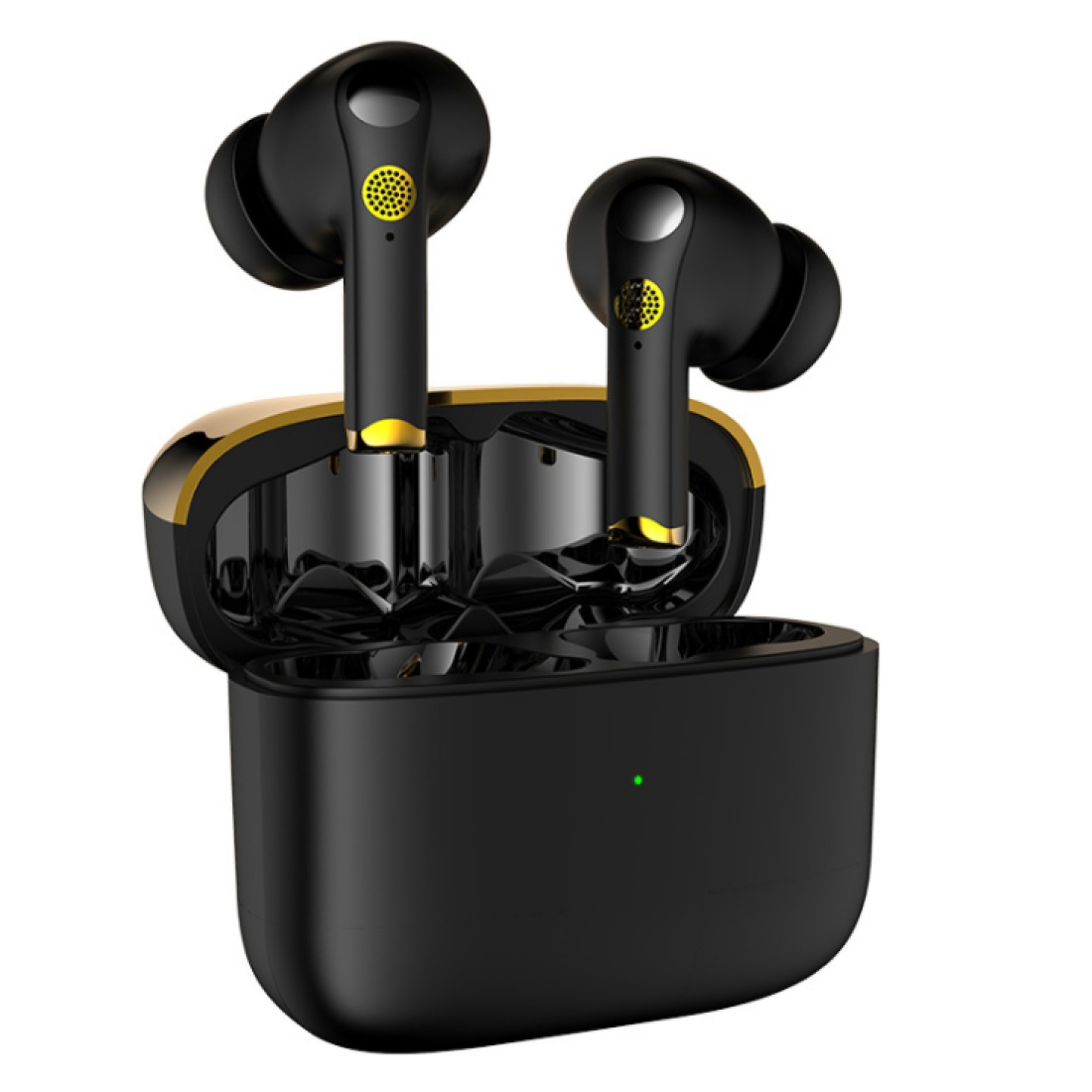 XG46  Bluetooth  Earphone Active Noise Cancelling Stereo Headphones Earbuds For Gaming Tws Headsets With Mic black